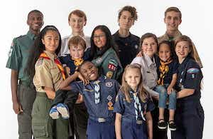 group of scouters
